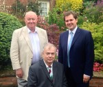 Lunch with Robert Jenrick MP - 8th August 2014
