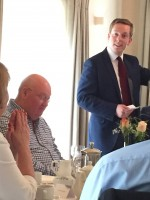 Lunch with Tom Pursglove MP - 19th June 2015