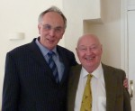 Peter Bone MP with Geoffrey Pointon
